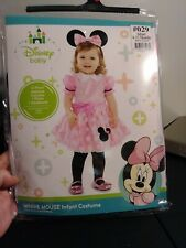 Disney Baby Minnie Mouse Infant Costume Size 6 - 12 Months New in Package