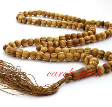 8mm Sandalwood Bead Mala Necklace Bracelet Buddhist Buddha Meditation Prayer