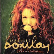 CD* États d'Amour - ISABELLE BOULAY  *** POP VOCAL ***