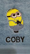 Embroidered Facewasher -Minions,,