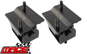 PAIR OF UNBREAKABLE ENGINE MOUNTS TO SUIT HOLDEN CREWMAN VY ECOTEC L36 3.8L V6