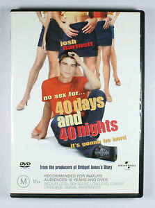 40 Days and 40 Nights DVD FREE POST