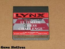 Fidelity Ultimate Chess Challenge Game Only - Atari Lynx - FREE SHIPPING!
