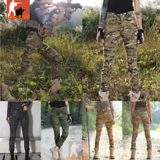 Women Tactical Airsoft Military Combat Pants Army Outdoor Urban Forces Trousers