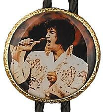 ELVIS PRESLEY BOLO TIE W/CORD  NEW  FREE SHIP IN USA  GREAT GIFT  NWT