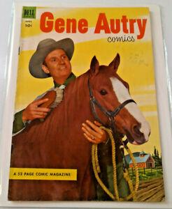GENE AUTRY Dell Comics APRIL 1953 ISSUE #74 GOLDEN AGE, 10 CENTS EXCELLENT!