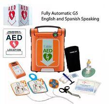 Cardiac Science Powerheart AED G5 Fully Automatic Dual Language:English/Spanish