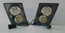 Volvo Vn Vnl 630 670 730 780 PAIR LED LIGHT DRIVING LAMPS BUMPER NEW