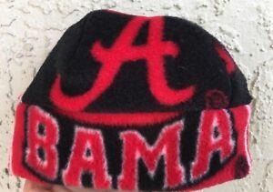 BAMA University of Alabama Fleece Beanie Hat  Newborn boys girls Children Adults