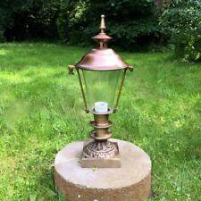 Iluminación de jardín con base, Rústico lámpara exterior, Linterna en el