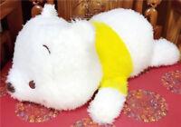 Japan Disney Winnie the Pooh Giga jumbo winter snow Plush Stuffed Doll SEGA
