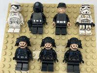 LEGO STAR WARS Minifigures Lot- Stormtroopers And Imperial Pilots