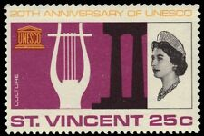 "ST. VINCENT 251 (SG256) - UNESCO ""Culture"" 20th Anniversary (pa83769)"