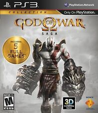 God of War Saga Collection ( PlayStation 3 PS3 - GoW 1 2 3 ) Brand New
