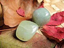 104-Lot de 2 galets de new jade-Reiki-feng shui-Soin par les cristaux