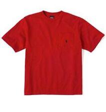 New Polo Ralph Lauren Boys Red Pocket T- Shirt Navy Blue Pony 6 NWT