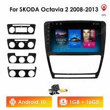 "10.1"" Car Stereo Radio Android GPS For Skoda Octavia 2008-13 WiFi/4G LTE DSP DAB"