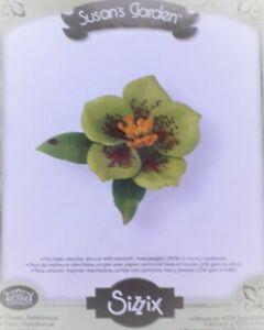 Fustella Sizzix fiore Rosa Natale fuori produzione DIY scrapbooking creatività