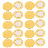 20pcs 27mm Diameter Piezo Discs Piezoelectric Ceramic Copper Buzzer Film Gasket