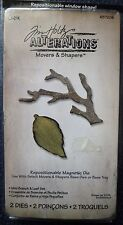 Sizzix Tim Holtz Alterations Movers & Shapers Die Set - Mini Branch & Leaf Set