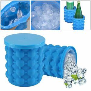 Küche Eisbehälter Silikon Eiswürfel Eiswürfelform Eiswürfelbereiter EisMaker