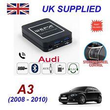 Per AUDI A3 musica in streaming bluetooth telefono Caricatore CD SD AUX Modulo 12 Pin