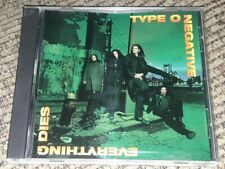 TYPE O NEGATIVE Everything Dies  RADIO STATION DJ Promo CD - PETER STEELE RIP