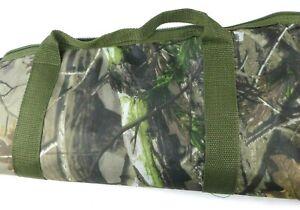 "Bird and Buck Deep Woods Camo Sportsman's Hunting Rifle Bag 54"" Length"