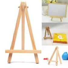 Mini Wooden Cafe Table Number Easel Wedding Place Name Card Holder Stand lj