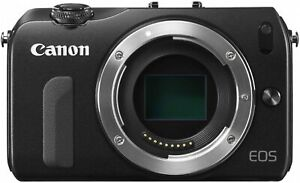 Canon EOS M Black Body Digital Camera 18.0MP EXCELLENT JAPAN