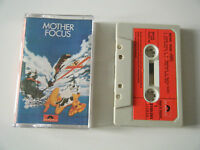 FOCUS MOTHER FOCUS CASSETTE TAPE 1975 RED PAPER LABEL POLYDOR UK