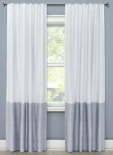 """Project 62 Blackout Colorblock (1)Curtain Panel Gray White 84""""x50"""""""