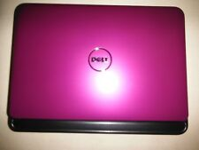 "Purple Dell Inspiron 1018 Mini Netbook Win7 - 10.1"" 160GB 1 GB Atom 1.66 GHz"