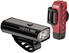 Lezyne Macro Drive 1100XL/Strip Pro USB LED 1100/300lmBike Light Set Black