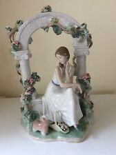 More details for lladro tranquillity figure - limited edition no. 579 with certificate