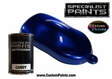 500ml Paint Kit of Candy Royal Blue, Automotive Paint Urethane, Custom Paint