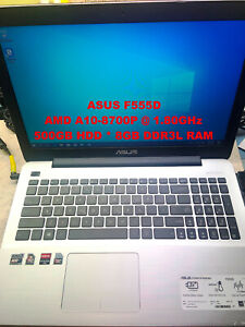 "ASUS F555D_AMD A10-8700P@1.80GHz_500GB SATA HDD_8GB DDR3L RAM_15.6"" Screen"