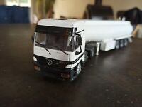 JOAL Camion Citerne Mercedes Actros 1840 échelle 1:50 très bon état Metal