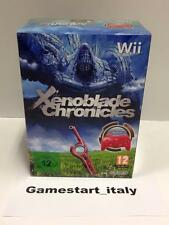 XENOBLADE CHRONICLES LIMITED RED CONTROLLER NINTENDO WII - NUOVO NEW PAL VERSION