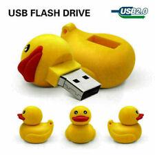 Usb flash drive 32gb pendrive cute duck memory stick 16g gift cartoon lot th