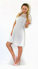 River Island Polyester Mini Textured Dresses for Women