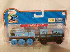 Thomas Wooden Railway Thomas & Six Flags Cargo Car New in Box Exclusive