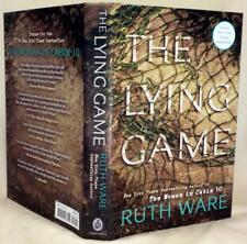 THE LYING GAME,  Ruth Ware, SIGNED, 1st/1st American edition, New