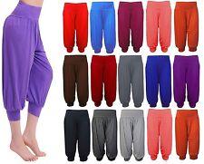 Women 3/4 Hareem Ali Baba Loose Baggy Trousers Pants Ladies Crop Shorts Leggings