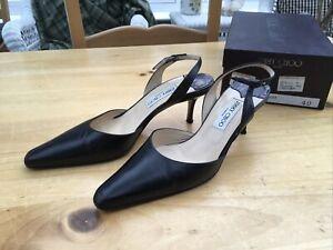 Jimmy Choo Black Shoes Size 40 UK 7
