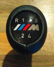 BMW 5 Speed Manual Gear Knob Genuine Leather M Sport Classic BNIB E30 E36 E80