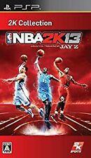 NBA 2K13 2K Used PSP SONY PLAYSTATION JAPAN IMPORT