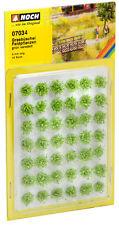 07034 Noch Cespugli con fiori di campo confezione 42 pezzi misura  alt. mm. 6