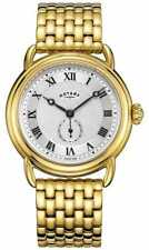Rotary mens Canterbury gold plated Bracelet GB05338/21 Watch - 12% OFF!