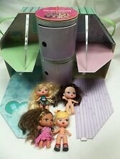 LIL BRATZ Lounging Loft Carrying Case includes 4 Dolls